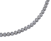 Platinum 2.70 ct. t.w. Brilliant Round Diamond Tennis Bracelet