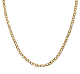16 Inch Twisted Oval Cable Link 14K Gold Chain
