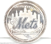 1986 New York Mets World Champions 1OZT FINE SILVER Bullion Coin