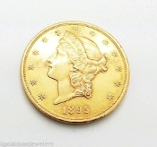 1895 Liberty Head Coronet $20.00 Double Eagle GOLD COIN GEM 1OZT