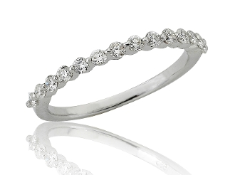 0.38 ct. t.w. Diamond Eternity 14K Gold Band