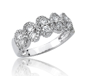 0.88 ct. t.w. Diamond Eternity Wedding 14K Gold Band
