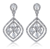 2.12 ct. t.w. Diamond Chandelier Drop 14K Gold Earrings