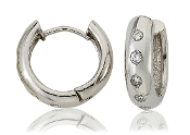 0.40 ct. t.w. Diamond 14K Gold Huggie Hoops