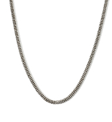16 Inch 14K Gold 2.5mm Wide Micro Bead Snake Chain