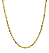 16 Inch 14K Gold 'S' Link Chain