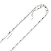 14 Karat Adjustable Chain, Adjust Up To 22''