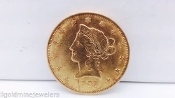 1907 P Liberty Head Coronet $10 GOLD COIN Very Fine 90% GEM