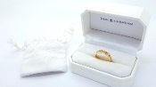 John Christian Numeros 14K Yellow Gold  Roman Numeral Ring