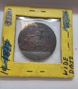 1781 North American Colonial Copper Trade Commerce Token BN