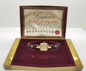 14K Gold Longines Wittnauer Dress Watch 1940's Ladies Art Deco
