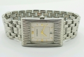 Vintage Boucheron Paris Reflet Stainless Steel Watch