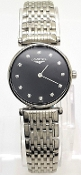 Longines La Grande Classique Women's Black Dial Diamonds Watch