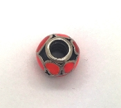 Pandora Red Hot Love Charm #790436ER  925 Sterling Silver