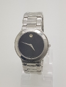 Movado Museum Dial Stainless Steel Black Watch 84.G2.1896