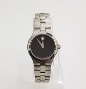 Movado Museum Dial Stainless Steel Watch Ladies 84.E4.1844