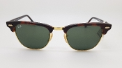 Ray-Ban Clubmaster Classic Sunglasses with Hard Case