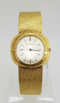 Jaeger LeCoultre 18K Yellow Gold Unisex Wristwatch JLC1