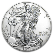 US Minted American Eagle Silver Dollar (Random Year)