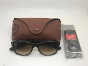 Ray-Ban New Wayfarer Classic Sunglasses In Tortoise with Case
