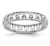 Sterling Silver Stackable Zodiac Taurus Ring