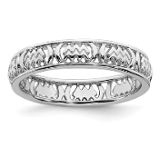 Sterling Silver Stackable Zodiac Aquarius Ring