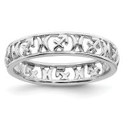 Sterling Silver Stackable Zodiac Sagittarius Ring