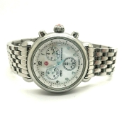 Michele CSX Stainless Steel Chronograph Watch MW03C00A0025